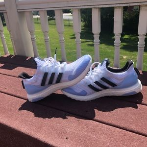 "UA adidas ultraboost x GOT ""white walker"" shoes"